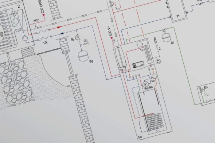 Progettazione impianti termici servizi Archabi